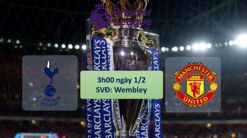 Soi kèo bóng đá Tottenham vs Man United – vòng 25 Ngoại hạng Anh 2017-18