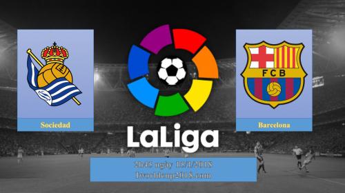 Soi kèo bóng đá Sociedad vs Barca – La Liga 2017-18