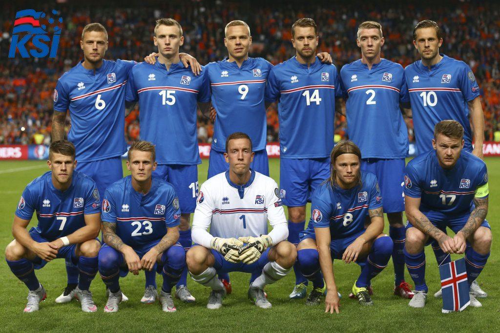 Chân dung đội tuyển Cộng hòa Iceland
