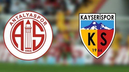 Soi kèo bóng đá Antalyaspor vs Kayserispor – Cúp Quốc Gia Thổ Nhĩ Kỳ 2017-18