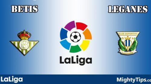 Soi kèo bóng đá Real Betis vs Leganes – La Liga 2017-18