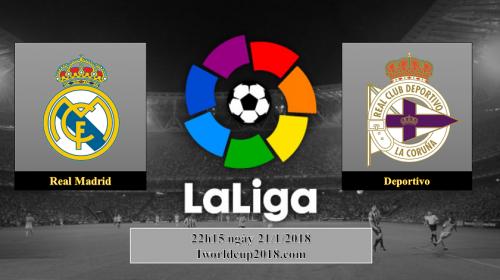 Soi kèo bóng đá Real vs Deportivo – La Liga 2017-18
