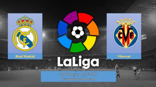 Soi kèo bóng đá Real vs Villarreal – La Liga 2017-18