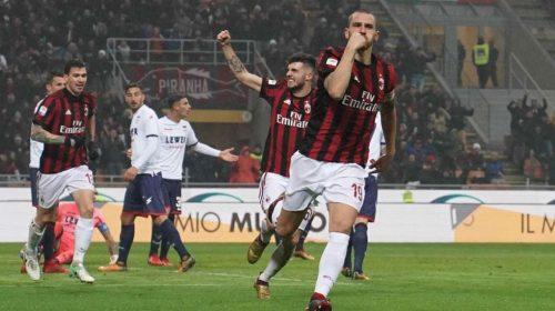 Milan vs Lazio – Tip kèo bóng đá – 2h45 ngày 01/02/2018 – Italia Cup – Bán kết Cúp Quốc Gia Ý