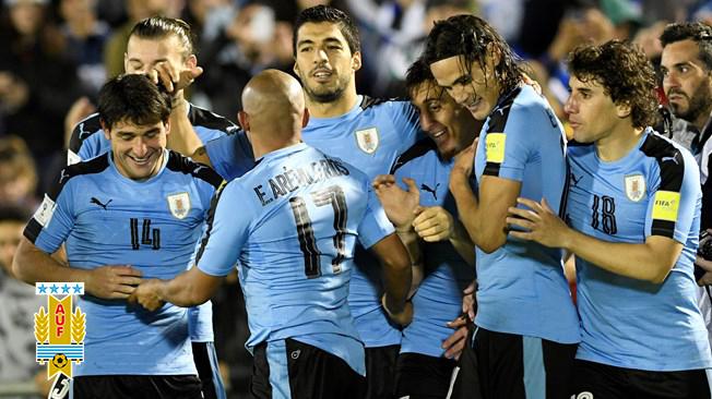 Uruguay – Bay trên đôi cánh Suarez – Cavani