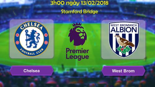 Soi kèo bóng đá Chelsea vs West Brom – Giải Ngoại hạng Anh 2017-18