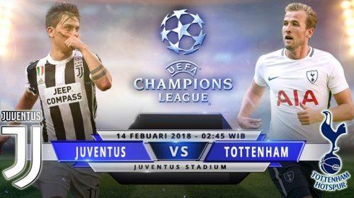 Soi kèo bóng đá Juventus vs Tottenham – Vòng 1/16 Champions League 2017-18