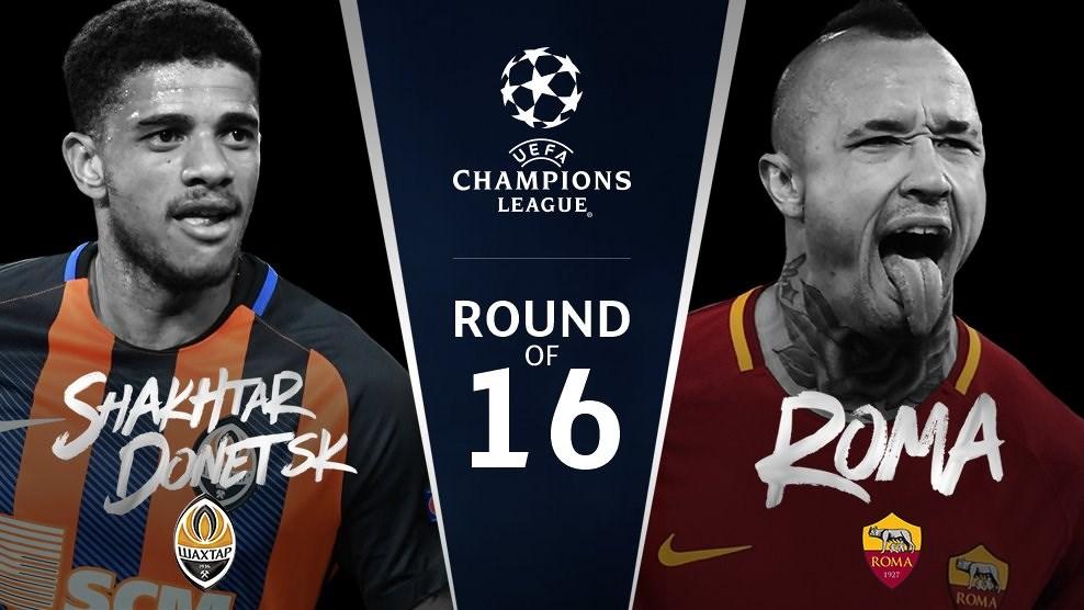 Soi kèo bóng đá Shakhtar Donetsk vs AS Roma – Vòng 1/16