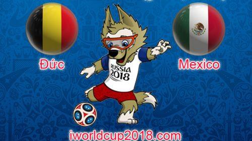 Đức vs Mexico – Soi kèo World Cup 2018 – 17/6/2018
