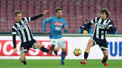 Napoli vs Udinese – Tip kèo bóng đá – 1h45 ngày 19/04/2018 – Italy Serie A  – vòng 33 VĐQG Ý 2017-18