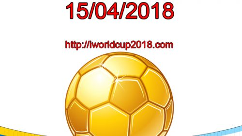 Lịch thi đấu bóng đá hôm nay và ngày mai 15/4/2018