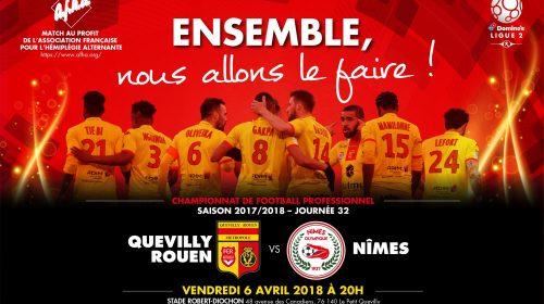 Quevilly Rouen vs Nimes – Tip kèo bóng đá – 1h00 ngày 7/4/2018 – France Ligue 2 – Giải Hạng 2 Pháp 2017-18