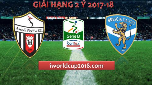 Soi kèo bóng đá Ascoli vs Brescia – Giải hạng 2 Ý 2017-18