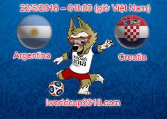 Argentina vs Croatia – Soi kèo World Cup – 22/6/2018