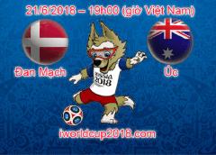 Đan Mạch vs Úc – Soi kèo World Cup – 21/6/2018