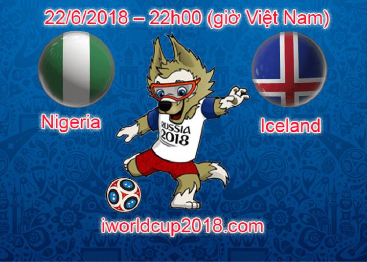 nigeria vs iceland soi k 232 o world cup 22 6 2018