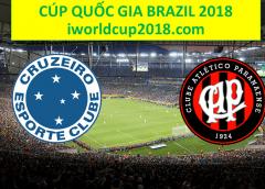 Soi kèo bóng đá Cruzeiro vs Atletico Paranaense – Cúp Quốc Gia Brazil 2018
