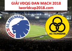 Soi kèo bóng đá Kobenhavn vs Horsens – giải VĐQG Đan Mạch 2018-19