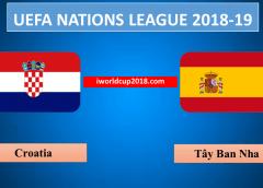 Croatia vs Tây Ban Nha – Soi kèo bóng đá – 16/11/2018