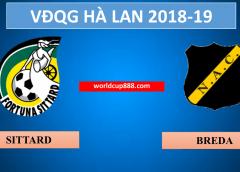 Fortuna Sittard vs NAC Breda – Soi kèo bóng đá – 21/4/2019