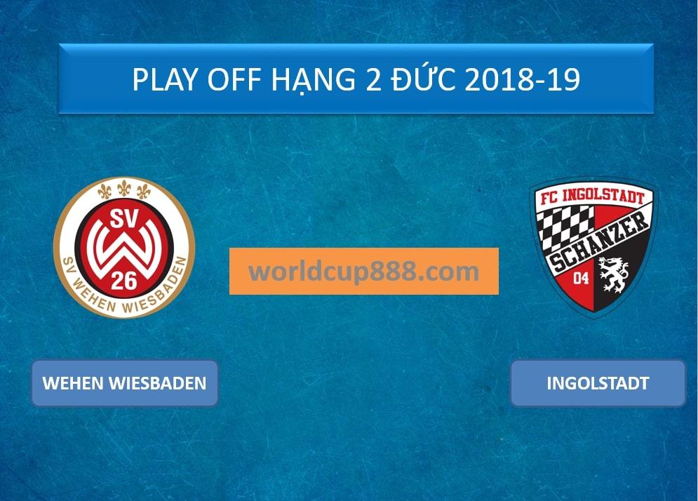 Wehen Wiesbaden vs Ingolstadt – Tip kèo bóng đá – 23h15 ngày 24/05