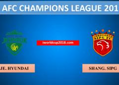 Jeonbuk Hyundai vs Shanghai SIPG – Soi kèo bóng đá – 26/06/2019