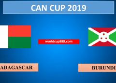 Madagascar vs Burundi – Soi kèo bóng đá – 27/6/2019