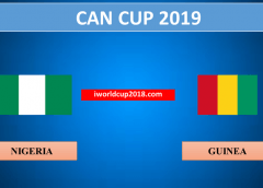 Nigeria vs Guinea – Soi kèo bóng đá – 26/06/2019