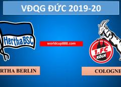 Hertha Berlin vs Cologne – Soi kèo bóng đá Đức – 22/2/2020