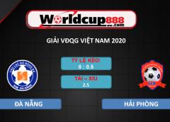 SHB Đà Nẵng vs Hải Phòng – Soi kèo bóng đá VĐQG Việt Nam – 26/09/2020