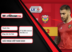 Thanh Hóa vs Hồng Lĩnh Hà Tĩnh – Tip kèo bóng đá – 17h00 ngày 26/09/2020 – V-League – VĐQG Việt Nam 2020