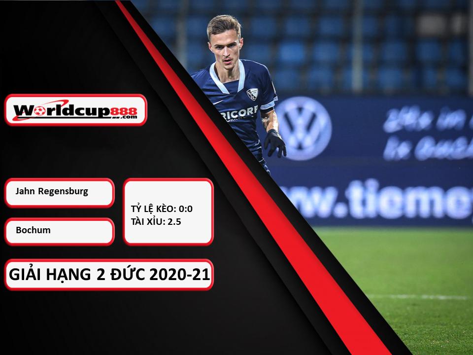 Truoctrandau đưa tin: Jahn Regensburg vs Bochu ngày 10/01/2021
