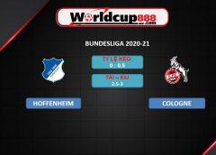 Hoffenheim vs Cologne – Soi kèo bóng đá Đức – 25/01/2021