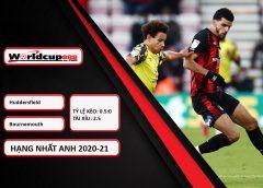 Huddersfield Town vs Bournemouth – Tip kèo bóng đá – 23h30 ngày 13/04/2021 – England League Championship – Hạng Nhất Anh 2020-21