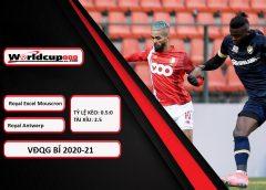 Royal Excel Mouscron vs Royal Antwerp – Tip kèo bóng đá – 1h45 ngày 13/04/2021 – Belgium Jupiler League – VĐQG Bỉ 2020-21