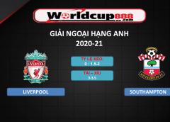 Liverpool vs Southampton – Soi kèo bóng đá Ngoại hạng Anh – 09/05/2021