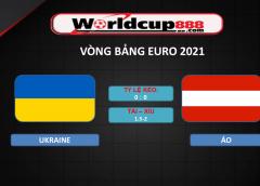 Ukraine vs Áo – Soi kèo bóng đá Euro 2020-2021 – 21/06/2021